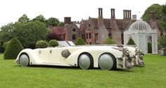 "Nautilus Car from ""League of Extraordinary Gentlemen"". Functional and capable of 75 mph speed."