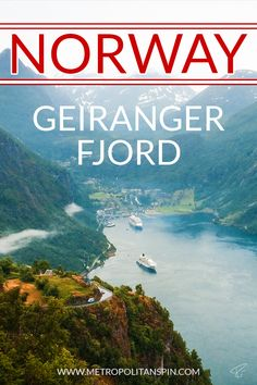 Visiting Norway? Check out the beautiful Geirangerfjord! #norway #europe #travel