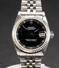 Rolex Oyster Perpetual Datejust Midsize ladies watch