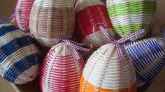 Pletení z pedigu  - Inspirujte se krásnými vajíčky opletenými pedigem nebo košíky z pedigu.