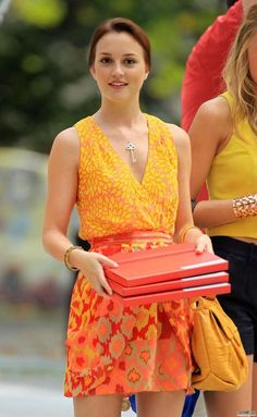 Nanette Lepore dress.  Nancy Gonzalez bag.  Tiffany & Co key necklace.  Mathew Campbell bracelet.