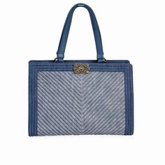 Every Chanel creation deserves to be etched with honour in the history of fashion as they carry irreplaceable style.  ITEM CONDITION: Pre-owned – Pristine condition.  SUPPLIED WITH: This item is supplied with its original Chanel dust bag.  SIZE: (Length) 26 cm x (Height) 24 cm x (Width) 18 cm x (Drop) 12 cm.  INTERIOR: Pristine condition – Like new.  EXTERIOR OF BAG: Pristine condition – Like new.  HANDLES: Pristine condition – Like new.  HARDWARE: Pristine condition – Like new. Chevron Quilt, Summer Bags, Dust Bag, Light Blue, Chanel, Hardware, Michael Kors, Exterior, Drop