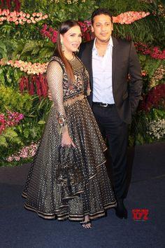 Mumbai: Virat Kohli  Anushka Sharma's wedding reception  Lara Dutta and Mahesh Bhupathi - Social News XYZ