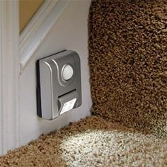 Motion Sensor Light - Make your home safer with a light that comes on when you walk by.