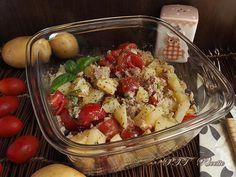Insalata di patate, tonno e pomodorini 1