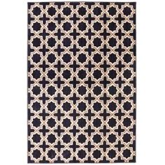 Pacifica Bal Indigo Rectangular: 3 Ft 5 In x 5 Ft 5 In Rug