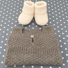 enkel strikket kjole baby Google søgning | Bebek yelek