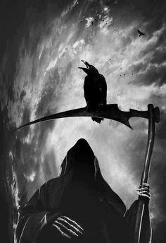 La sombra del Cuervo.