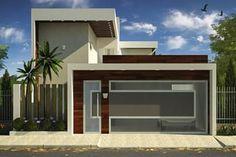 Proyecto de casa con terraza