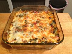 Since I had so many leafy greens this week, I borrowed a trick from last year (pictured) and turned a big pile of them into a casserole. In this case, I chopped up the chard, beet greens, and baby arugula, and simmered them in a tomato sauce with red wine and ground beef. Poured the saucy greens into a casserole, covered it in cheese, and baked at 375 for half an hour or whenever it looks done. Serve with rice or pasta if desired.