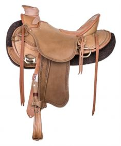 Horse Gear Innovations KG - Wade Saddle Olive Custom made 11 Horse Gear, Horse Tack, Wade Saddles, Western Tack, Leather Backpack, Custom Made, Horses, Bags, Style