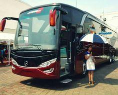 Indonesian bus. Jiexpo kemayoran jakarta.
