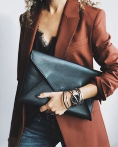 —Details— Blazer – Theory (also here) Tee –Daily Ritual Scarf – Free People Jewelry –Vintage Blazer Outfits, Casual Fall Outfits, Trendy Outfits, Fashion Outfits, Girly Outfits, Fashion Clothes, Camisole Outfit, Lace Camisole, Casual Street Style