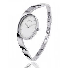 Ladies stainless steel EQUILIBRE white watches - Xc38