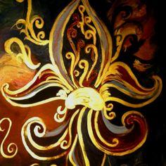 Fleur canvas