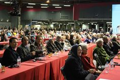 Solidarity gathering in  Paris, organized by the Iranian Resistance in solidarity with French people against Islamic fundamentalism, and Iranian terrorist government.