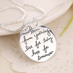 I Love You to the moon and back big round pendants and necklaces for women