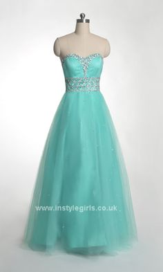 tiffany Strapless Sweetheart Ball Gown Party Dress ISD237