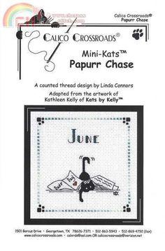"Calico Crossroads Kats By Kelly - Mini Kats ""Papurr Chase"" - June 2007"