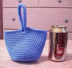 [Free Pattern] This Adorable Ditty Bag Is The Perfect Little Gift Bag - Knit And Crochet Daily