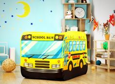 Children's Funky Yellow School Bus Pop Up Play Tent Indoor/Outdoor Easy Assemble  http://www.ebay.co.uk/itm/Childrens-Funky-Yellow-School-Bus-Pop-Up-Play-Tent-Indoor-Outdoor-Easy-Assemble-/252663780442?hash=item3ad3ef545a:g:YvsAAOSwnHZYQONc