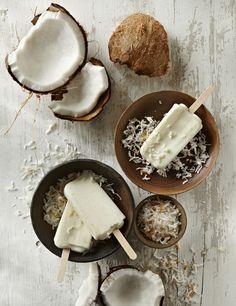 Pulpa de coco y leche