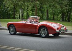 1962 MGA MKII British Sports Cars, Classic Sports Cars, Classic Cars, Mg Cars, Cars Uk, British Aerospace, Austin Healey, Automotive Design, Motor Car