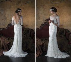 Art Deco Wedding Dress Violetta from Eliza Jane Howell