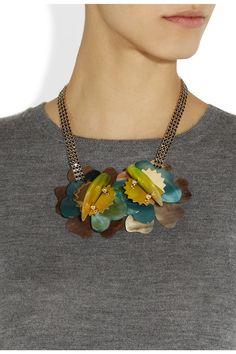 Marni necklace, Net-a-Porter.com