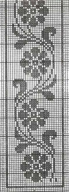 This Pin was discovered by Kam Cross Stitch Bookmarks, Cross Stitch Rose, Cross Stitch Borders, Cross Stitch Designs, Cross Stitch Embroidery, Cross Stitch Patterns, Crochet Leaves, Crochet Motif, Crochet Doilies