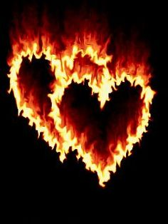 Hearts On Fire animation I Love Heart, Happy Heart, My Heart, Heart In Nature, Heart Art, Heart Images, Love Images, Bisous Gif, Coeur Gif