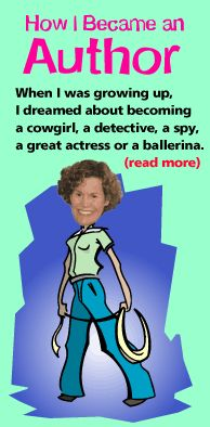 Judy Blume's site has great advice on writing, fun trivia, and information about all of her books.