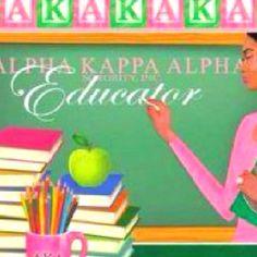 Keep Touching young lives! Aka Sorority, Alpha Kappa Alpha Sorority, Sorority Life, Pretty Girl Swag, Pretty In Pink, Pretty Girls, Aka Founders, Greek Paraphernalia, Teacher Outfits