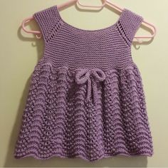 This charming cap-sleeved, swiThis Pin was discovered by AyşTil lillesøster og storesøsterThis pattern is called Honey PThis charming cap-sleeved, swingy cardigan is the perfect timeless piece to add to any little girl's summertime wardrobe, or as Lace Dress Pattern, Crochet Baby Dress Pattern, Knit Baby Dress, Baby Dress Patterns, Crochet Lace Dress, Knitted Baby Clothes, Crochet Clothes, Baby Knitting Patterns, Knitting For Kids