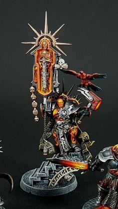 Warhammer Age of Sigmar | Stormcast Eternals | Lord Relictor #warhammer #ageofsigmar #aos #sigmar #wh #whfb #gw #gamesworkshop #wellofeternity #miniatures #wargaming #hobby #fantasy