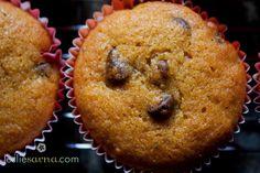 Harvest Pumpkin Chip Muffins {Gluten-Free} by lesliedurso.com