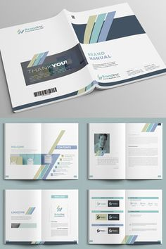 Corporate Identity Guideline Standard Manual Graphicriver This