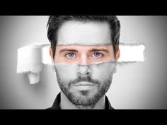Photoshop Tutorial: How to Quickly Create a Cool-looking, Torn Paper Portrait. - YouTube