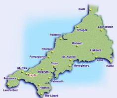 Cornwall  My paternal grandfather was born here.