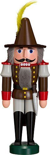 German nutcracker bandit height 29 cm  11 inch original Erzgebirge by Seiffener Volkskunst >>> Want to know more, click on the image.