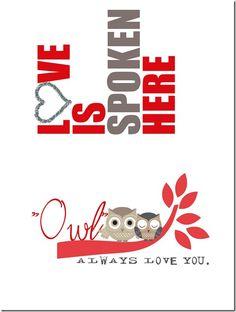 FREE valentine printable.