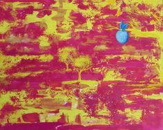 """Digitaldruck - 4 Jahreszeiten """"Frühling"""" (13 x 18 cm) - ein Designerstück von StaX Art bei DaWanda - weitere Informationen unter www.laden-thin.de"""