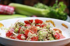 Een salade is ideaal als lunch als je geen brood wilt eten. Je krijgt op die…