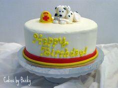 Cakes by Becky: Fireman Birthday Cake