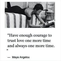 From a Facebook friend who shared this as a remembrance of the amazing Maya Angelou!! May 28, 2014