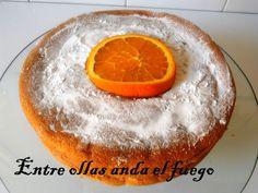 Bizcocho de naranja de Julia Child