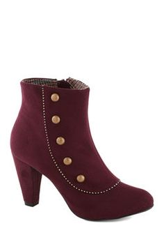Imagine Spat! Bootie, #ModCloth