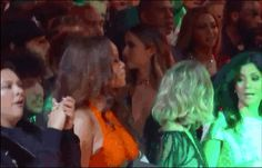 Seems legit! | Ok, So Beyonce And Rihanna Said Hi To Each Other At The Grammys