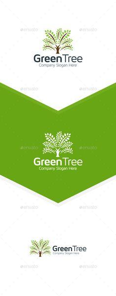 Tree - Logo Design Template Vector #logotype Download it here: http://graphicriver.net/item/tree-logo/9857923?s_rank=1506?ref=nexion