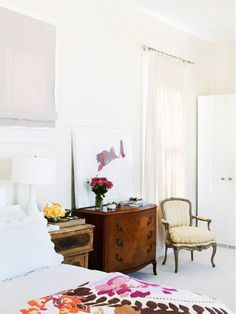 Tour a Light, Bright, Feminine San Francisco Home via @domainehome, designer soledad alzaga